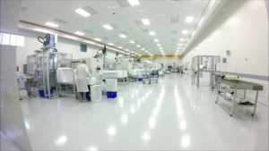 Cleanroom workfloor